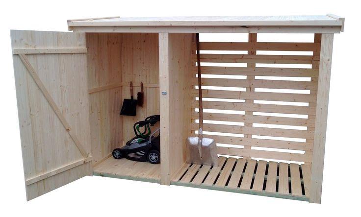 les 25 meilleures id es de la cat gorie abri bois de. Black Bedroom Furniture Sets. Home Design Ideas