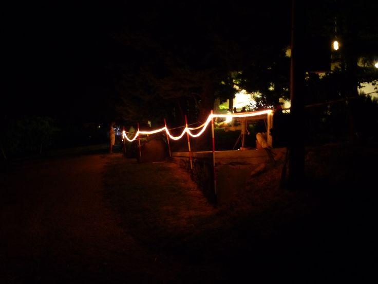 Decorazioni notturne #tenutaneri www.tenutaneri.com #romagna