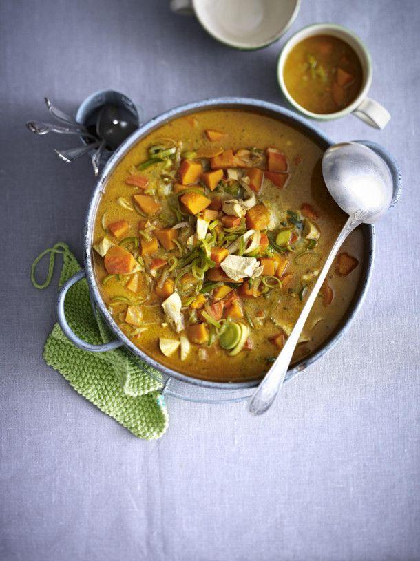 Unser beliebtes Rezept für Curry-Hähnchen-Eintopf und mehr als 55.000 weitere kostenlose Rezepte auf LECKER.de.