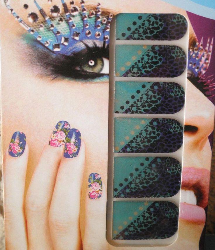 stickers d ongles-bijoux autocollant-nail art-vernis-déco-tattoo-léopard-fauve
