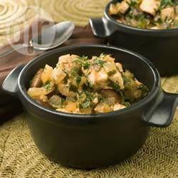 Swordfish with Broad Beans @ allrecipes.com.au