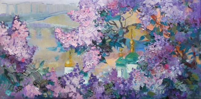 Lilacs are waltzing and waltzing in pairs On the quickening sounds of rain Falling on the tin roof A satiating fragrance of lavender and amethyst Lullabies me to sleep