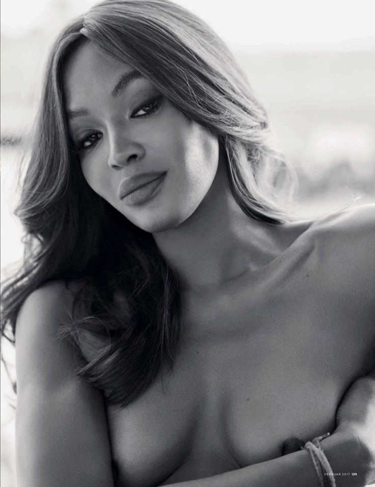 Naomi Campbell in GQ Germany February 2017 issue