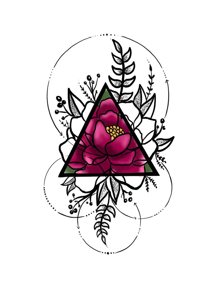 Best 25 Geometric Rose Tattoo Ideas On Pinterest Geometric Flower Geometric Shape Tattoo And