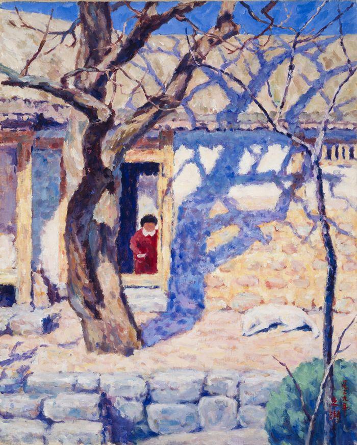 """A House with a Southern Prospect"" by Oh Ji-ho (1939)"