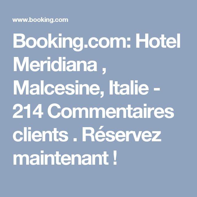 Booking.com: Hotel Meridiana , Malcesine, Italie  - 214 Commentaires clients . Réservez maintenant !
