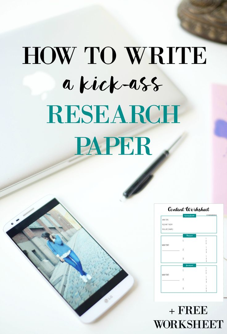 HOW TO WRITE A KICK-ASS RESEARCH PAPER! My best tips and tricks for writing a great thesis, term paper or research paper.  Helpful tips to get you through your exams. --> Click through to the blog to read more + GET YOUR FREE CONTENT WORKSHEET TO GET YOU STARTED!