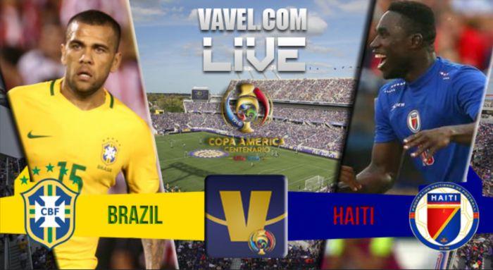 Brazil vs Haiti Live Score Stream and Result in Copa America Centenario (0-0)