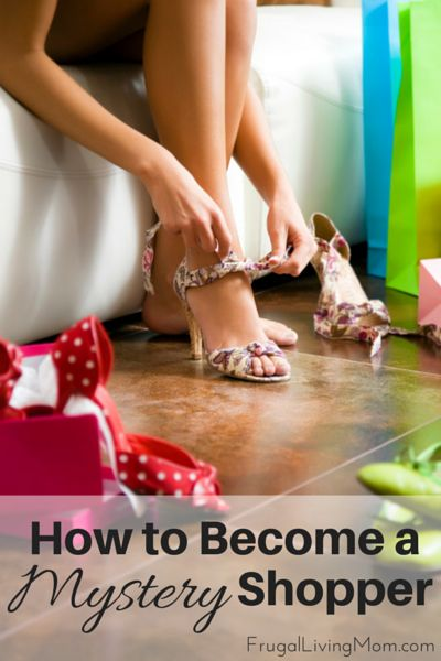 How to Become a Mystery Shopper (and earn $$).  Every wonder what a mystery shopper is and how to become one?