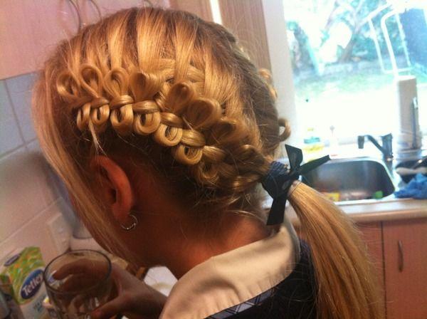 School Hairdo (: | Brittany L.'s (brittanylong) Photo | Beautylish