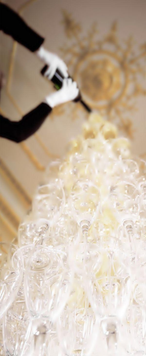 champagne toren:-D