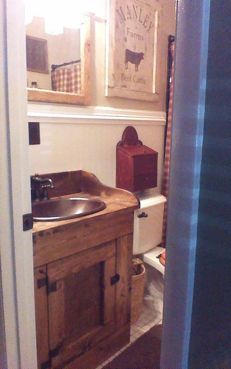 298 best primitive bathrooms images on pinterest primitive