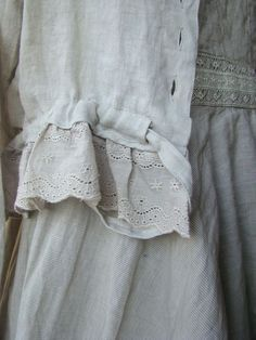 sew clothing from vintage linen - Google Search