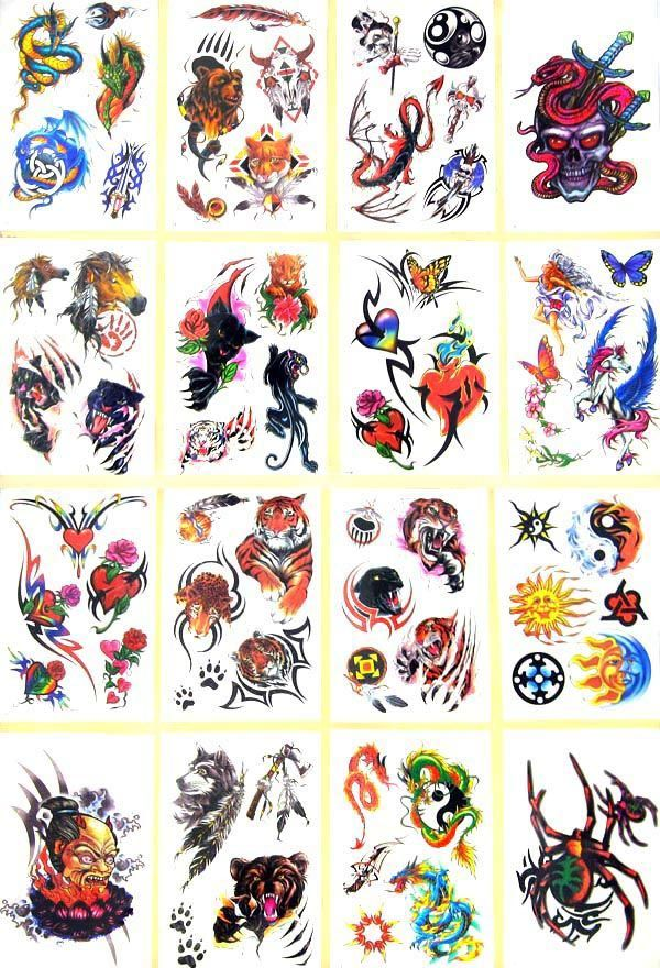 cool temporary tattoo designs party decorations pinterest tattoo designs and tattoo. Black Bedroom Furniture Sets. Home Design Ideas