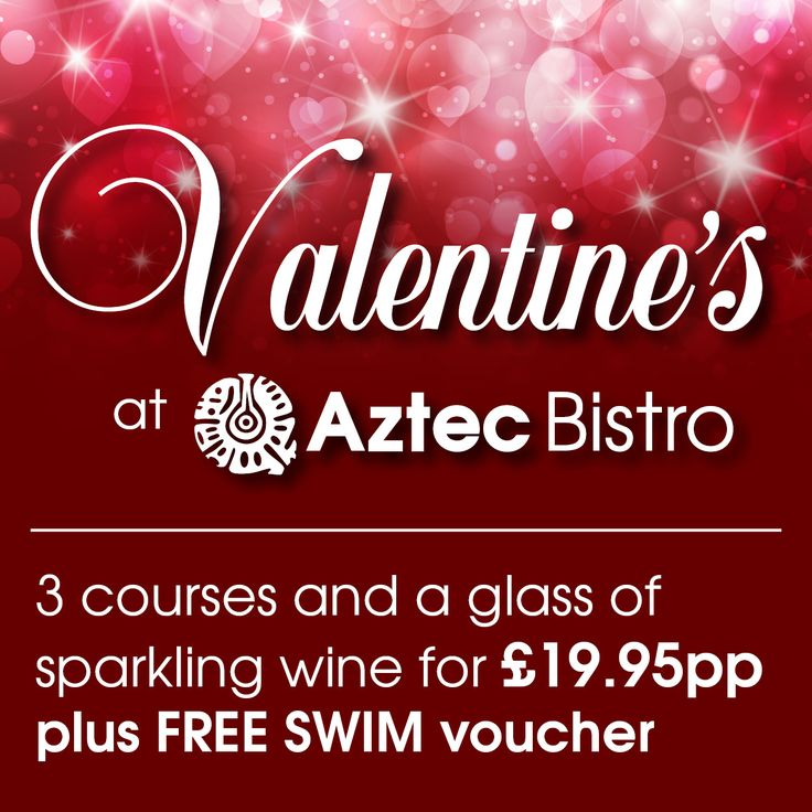 Join us this Valentine's day! 3 courses for £19.95!