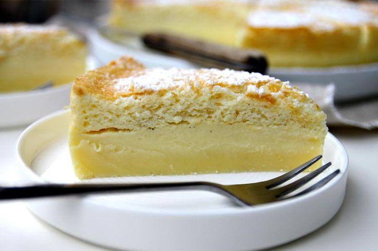 La meilleure recette de gâteau magique à la vanille au Thermomix ! Toutes les explications pour être certain de bien obtenir 3 belles couches :)