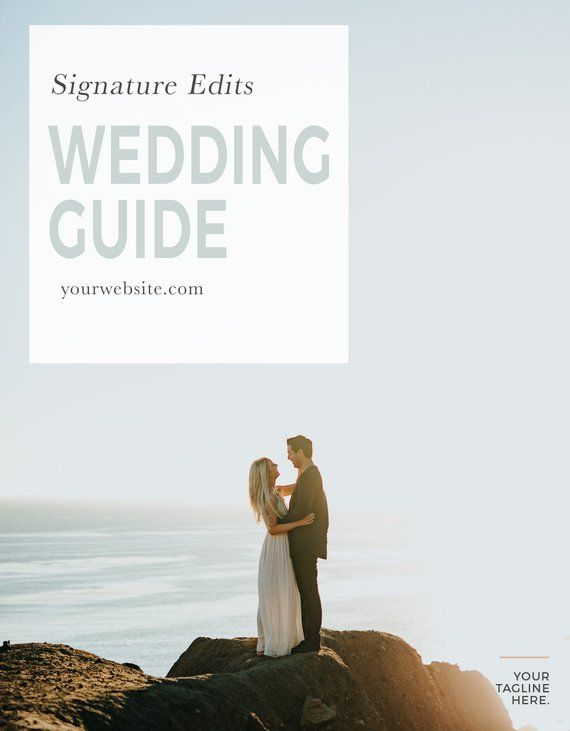 Videographer Price List Template, Wedding Price Sheet, Pricing Guide