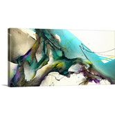 Found it at Wayfair - Trust the Flow by Jonas Gerard Gallery Painting Print on Wrapped Canvas