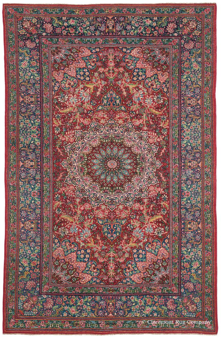 TEHRAN, North Central Persian, 4ft 5in x 6ft 11in, Circa 1900. Fine Tehran Persian rugs woven over 100 years ago are quite limited in number and coveted for their dazzling, ornate artistry and consummate craftsmanship. With its splendiferous sunburst center medallion, this first-quality area size antique rug presents an exciting departure from this region's traditional design of petite rose bushes.