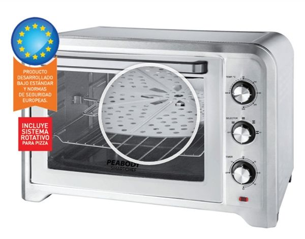 Cocinar En Horno Electrico | Horno Electrico De 3 Niveles De Coccion Incluye Accesorio Para