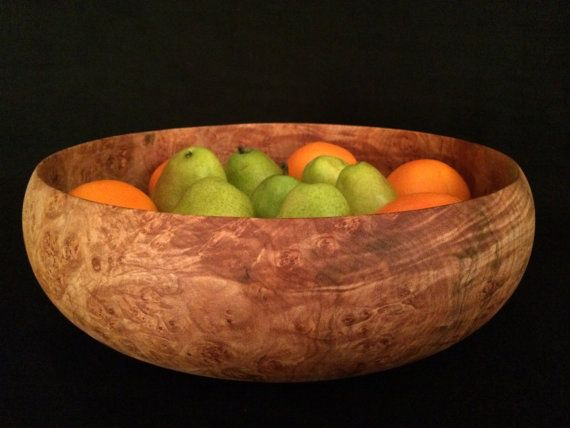 Extra Large Wood Bowl Hand Turned And One Of A Kind