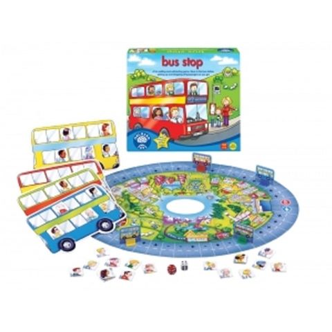 Bus Stop Educational Maths Game by Orchard Toys - Available at Kids Mega Mart Online Shop Australia
