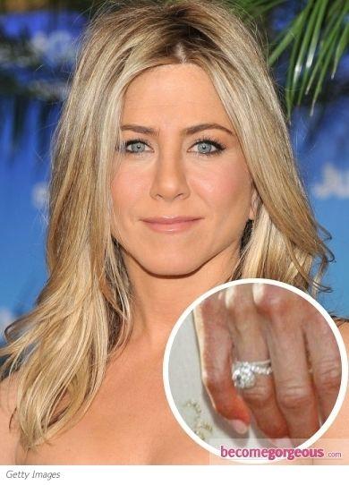 jennifer aniston engagement ring - Jennifer Aniston Wedding Ring