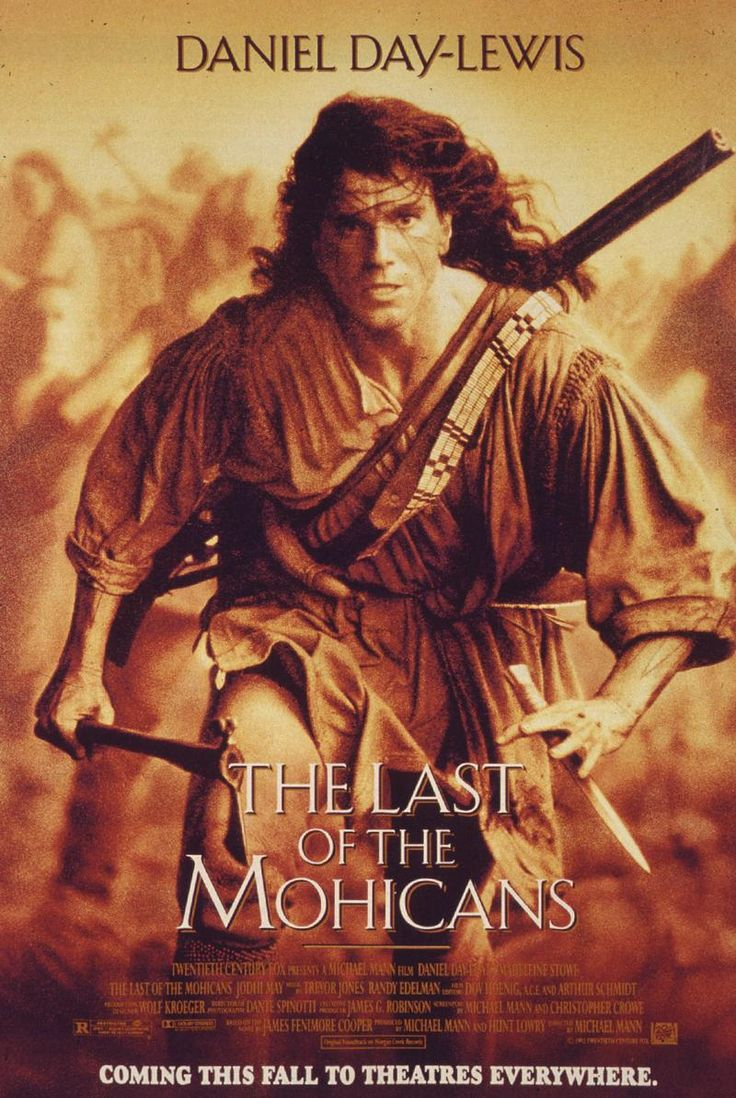 THE LAST OF THE MOHICANS Limited Series in Development at FX  This is when I fell in love with DDLewis