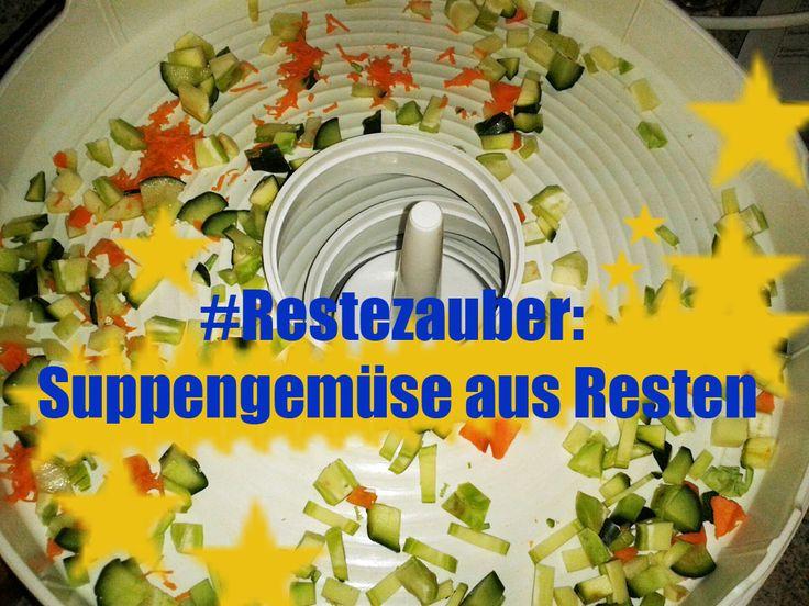 #Restezauber: Suppengemüse aus Resten | Verrücktes Huhn - Neues aus dem wahren Leben