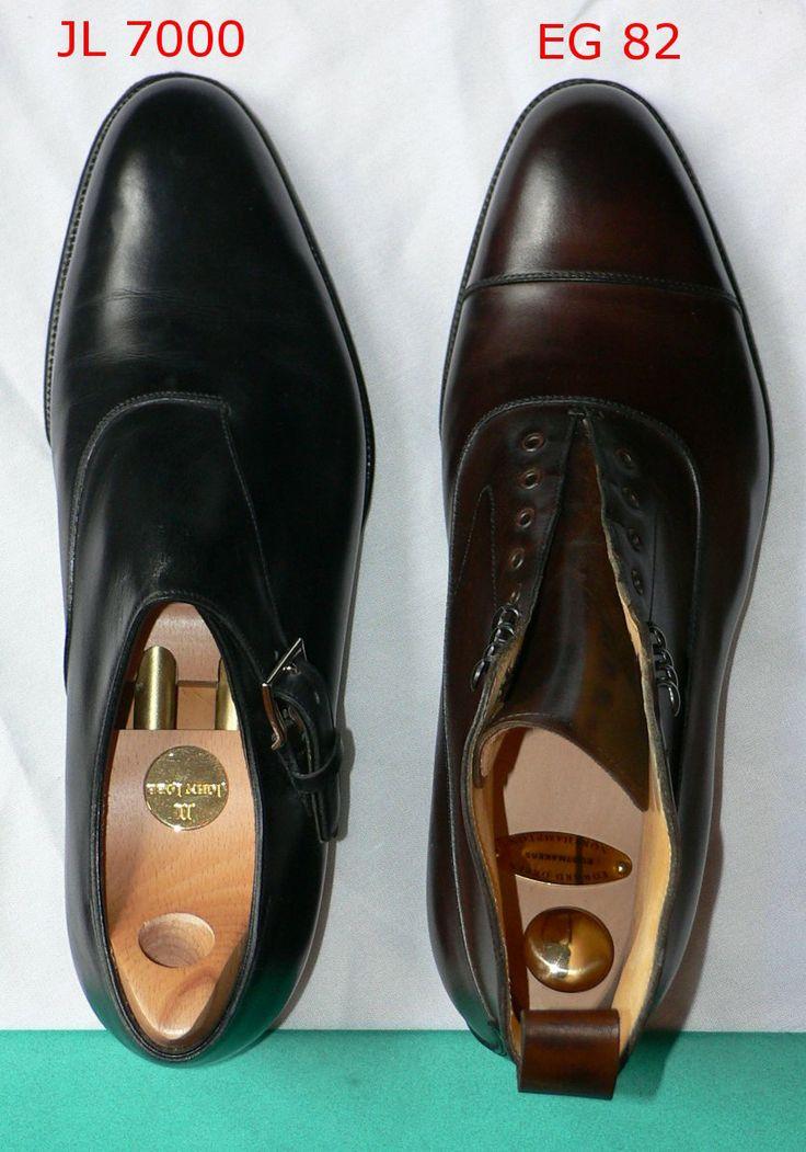 Comparison Of John Lobb S 7000 Last And Edward Green S 82