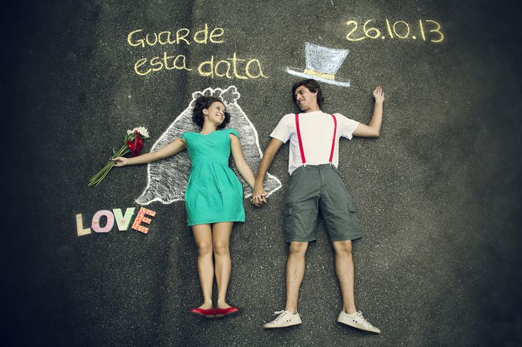 The most romantic and creative Save the Date Pics and videos.