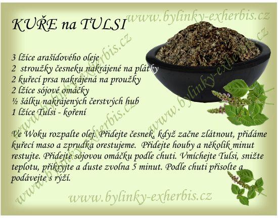 ExHerbis: Tulsi - Božské koření