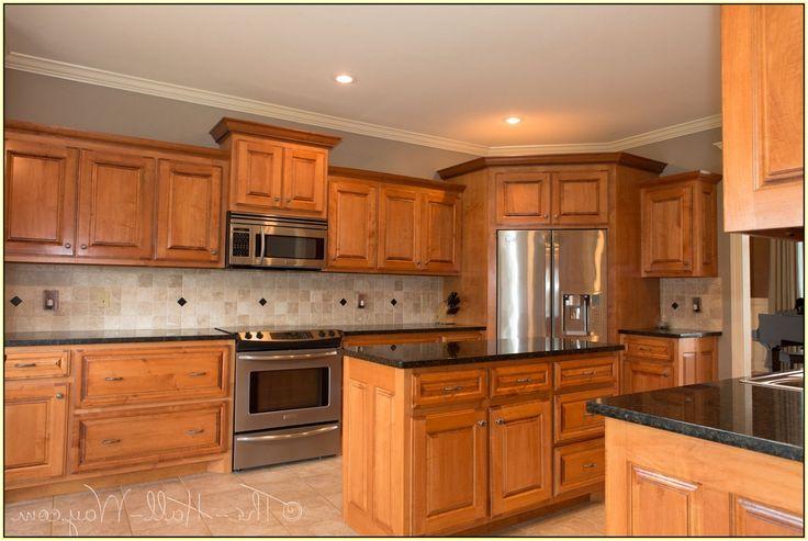 Ubatuba Granite With Cherry Cabinets Kitchens