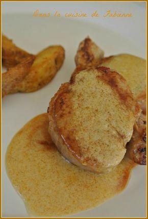 Filet mignon à la plancha, mariné miel et vin blanc