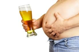 What effect does alcohol have on people´s weight?