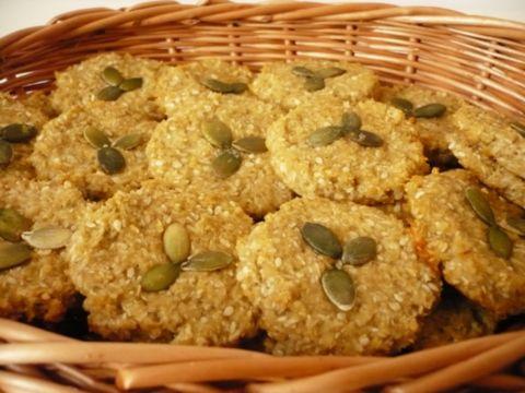 Ovesné sušenky bez pšenice - možná varianta bez sladidel, stačí přidat banán nebo jablečná povidla