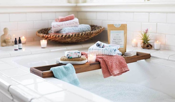 Get some well deserved R&R in the comfort of your own home! We have all the essentials you need to create your own home spa! #relaxation #spa #wellness