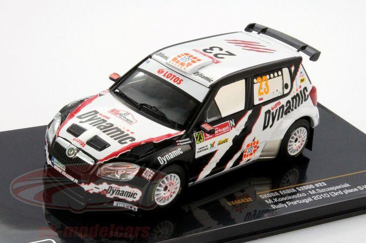 Skoda Fabia S2000, 3. Space S-WRC Rally Portugal 2010, No.23, M.Kosciuszko / M.Szczepaniak. Ixo, 1/43. Price (2016): 13 EUR.