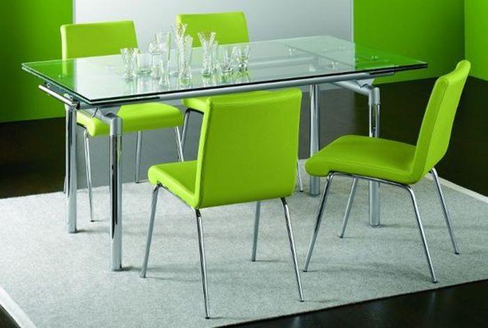 Практичные раскладные стеклянные столы для кухни - http://mebelnews.com/mebel-dlya-kuhni/praktichnye-raskladnye-steklyannye-stoly-dlya-kuxni.html