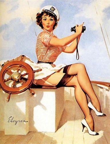PIN UP: Palavra  inglesa  para  fazer  referência  aos  desenhos,   ilustrações  e  pinturas  de  garotas  sensuais  e maliciosas surgidos a partir dos anos 40.