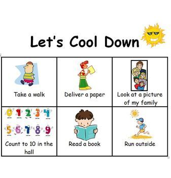 Let's Cool Down Picture Strategies for Cooling Down ...