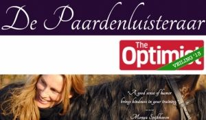 The Optimist veilt: Individuele sessie paardencoaching voor 2,5 uur  Paardencoaching is een van de meest directe manieren van coaching en leidt in korte tijd naar de essentie van iemands vraag. De ervaring leert inmiddels dat de (leer)effecten blijvend zijn. Paardencoaching kan ingezet worden bij leiderschapsontwikkeling, persoonlijke ontwikkeling, teamontwikkeling, effectief communiceren & persoonlijke coaching bij levensvraagstukken.