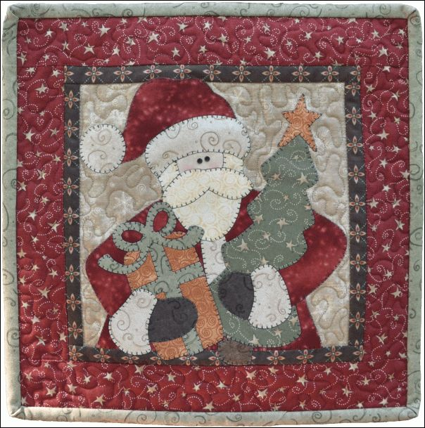 December Santa - The Wooden Bear