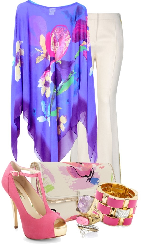 """Gottex Kaftan"" by flowerchild805 ❤ liked on Polyvore"