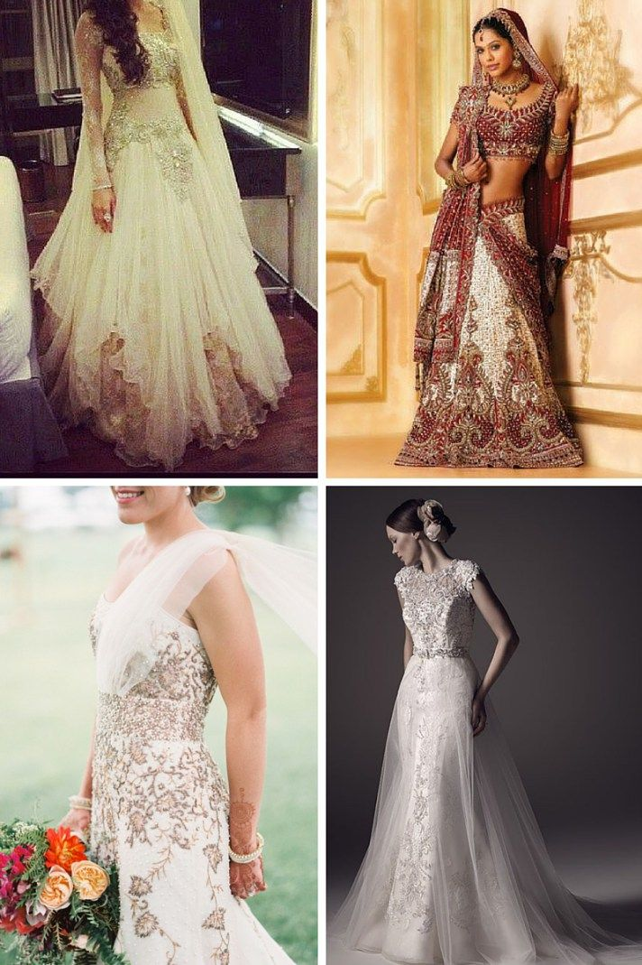 Best 25 indian wedding dresses ideas on pinterest for Indian fusion wedding dress