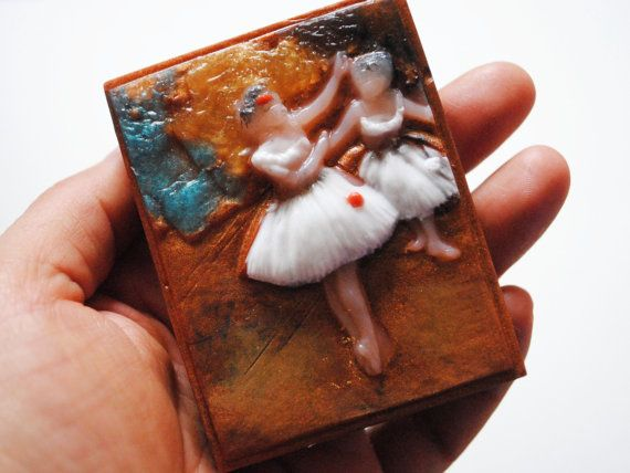 Handmade inspired 'Two dancers on a stage' parody by NerdySoap