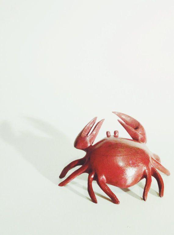 Wooden Crab House Decor Crab Art Wood Art Gift by WoodShopByWoody