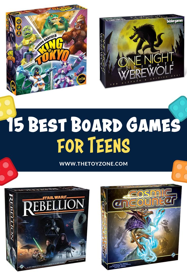 15 Best Board Games for Teens in 2020 TheToyZone in 2020