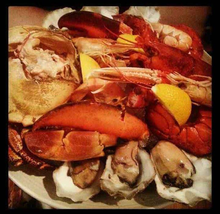 Loch Fynn - seafood platter...