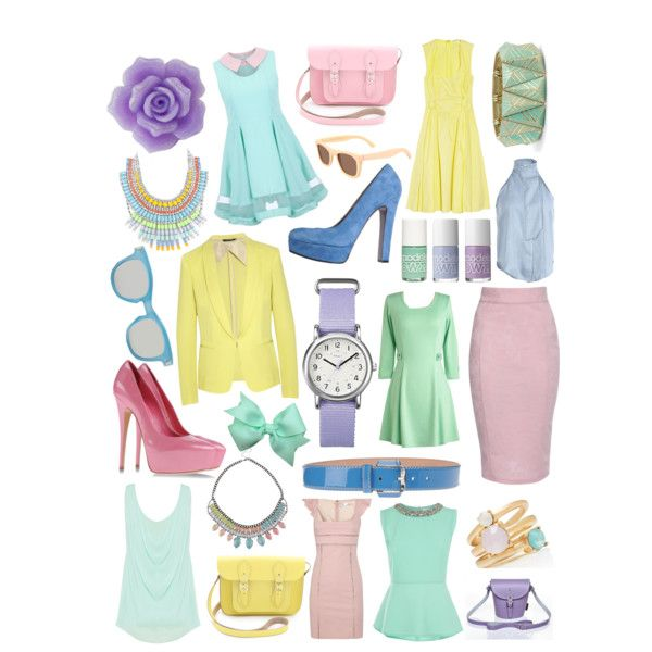 SPRING RACING FASHION - pastel power #adorncollection